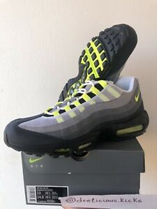 Nike Air Max 95 OG Neon 2020 Black/Green/Gray Size 13 47.5 DS Receipt