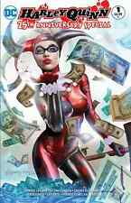 HARLEY QUINN 25th ANNIVERSARY SPECIAL 1 COMICXPOSURE GREG HORN COLOR VARIANT NM