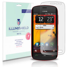 iLLumiShield Matte Screen Protector w Anti-Glare/Print 3x for Nokia 808 PureView