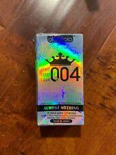 Okamoto 004 0.04 10 pcs Condoms Ultra Thin Lubricated Exp: 12/2022. Japan
