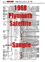 1968 Plymouth Gtx Full Car Wiring Diagram High Quality Printed Copy Ebay