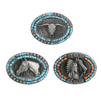 Vintage Style Horse Head Western Cowboy Rodeo Large Belt Buckle Replacement