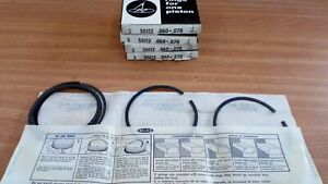 Piston Rings Set fits Ford Consul Mark 2 375 Zephyr 4 Thames 10-12 Cwt