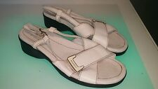 Stonefly sandals white good shape women's size 7 (39)