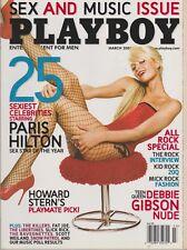 PLAYBOY MARCH 2005-A – JILLIAN GRACE –  25 SEXIEST CELEBS - DEBORAH GIBSON
