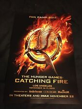 The Hunger Games: Catching Fire Fan Camp LA Premier Limited Edition Poster