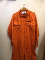 Dickies Vintage Orange Jumpsuit Boilersuit Workwear Size Large