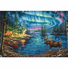 Dimensions - Counted Gold Cross Stitch Kit - Northern Night - D70-35312
