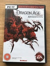 DRAGON AGE ORIGINS AWAKENING EXPANSION ADD ON PC DVD-ROM FREE POST FAST DELIVERY