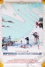 STAR WARS V - EMPIRE STRIKES BACK - polish poster - Harrison Ford print vader