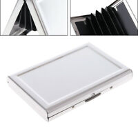 Business ID Credit Card Wallet Holder Aluminum Metal Pocket Case Box Waterproof
