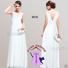 Vestidos de mujer de color principal blanco de chifón