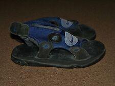 Vintage Mens Womens NIKE Flip Flop SANDALS Size 6 Blue Black Slip-In Neoprene