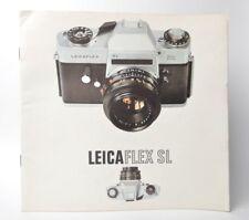 Leicaflex SL Info Anleitung