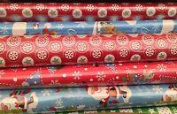 lot revendeur destockage De 10 Rouleaux Papiers Cadeaux