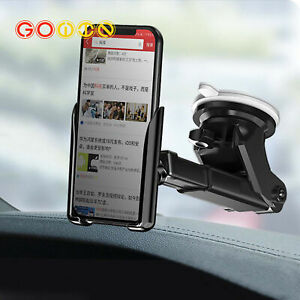 Gravity Car Suction Sucker Cup Phone Holder GPS Dashboard Mount Cell Phone Stand