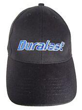 BLACK BLUE DURALAST CAR TRUCK BATTERIES PARTS ADVERTISING ADJUSTABLE HAT CAP