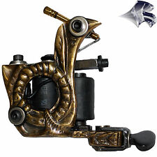 Brass Earthworm Tattoo Machine - Liner