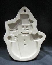 Snowman Cookie Mold Superstone Sassafras USA 1994