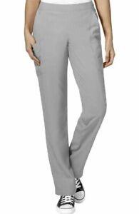 "Wink Scrubs #5155 Elastic/Drawcord Waist Detailed Scrub Pant in ""Grey"" Size 2XL"
