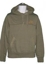 NIKE Vintage NSW Sportswear Quality Military Style Cotton Hoodie Green 2XL T