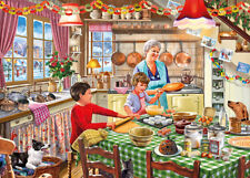 Gibsons - 500 XL BIG PIECE JIGSAW PUZZLE - Christmas Treats