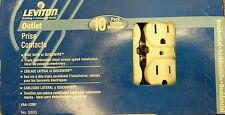 (CJ) Leviton 5320-WMP 15A-125V Outlet (White) Box of 10