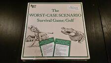 The Worst Case Scenario Survival Game Golf Board Game -Complete, NEW