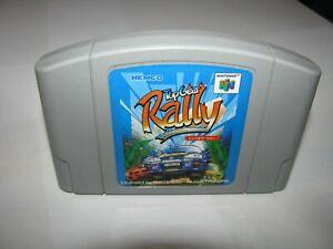 Top Gear Rally Japanese Nintendo 64 N64 Japan import US Seller