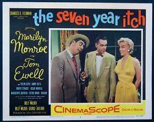 SEVEN YEAR ITCH MARILYN MONROE YELLOW DRESS 1955 LOBBY CARD #7 NEAR MINT