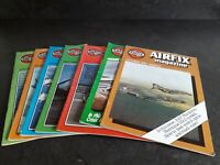 7 x  VINTAGE 1980 AIRFIX MAGAZINE FOR MODELLERS