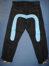 NEW Genuine MONEY TALKS - W40 Mens Dark Blue Hip Hop Jeans - Cinch Zip Fly -G932