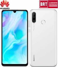 "Huawei P30 Lite 128GB Dual SIM 6GB RAM Smartphone Mobile Sbloccato 6.15"" Bianco"