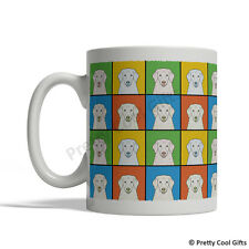 Kuvasz Dog Mug - Cartoon Pop-Art Coffee Tea Cup 11oz Ceramic