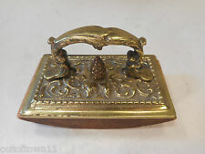 Vintage Brass  Desktop Ink Blotter  ref 1767