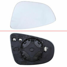 White Left Driver Side Heated Mirror Glass for VW Golf/R32/GTI/Rabbit 2010-2013