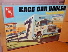 AMT 1/25 Scale 1975 Ford LN 8000 Louisville Line RETRO Race Car Hauler Sealed