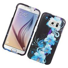 Étuis, housses et coques bleu en plastique rigide Samsung Galaxy S6 pour téléphone mobile et assistant personnel (PDA)