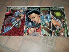 Allegra #1 - #4 Image Comic Books