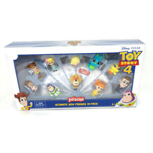 Disney Pixar Toy Story 4 Minis Ultimate New Friends 10 Pack New Free Shipping