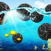 100 pcs 16mm Aquarium Bio Balls Filter Media Wet Dry Koi Fish Tank Pond Reefx Q