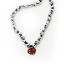 Heart necklace with dice