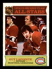 GUY LAPOINTE 75-76 O-PEE-CHEE 1975-76 NO 293 EXMINT+ 17019
