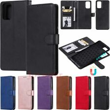 Detachable Magnetic Leather Wallet Case Cover For Samsung S20 S10 S9 S8 Note9 J6