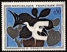 FRANCE - Yvert 1319 - TABLEAU PEINTURE BRAQUE -Timbre  neuf**