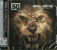 50 CENT-ANIMAL AMBITION AN UNTAMED DESIRE TO WIN-JAPAN CD D81