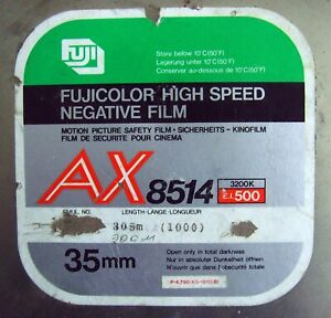 Fuji color negative film AX8514 and A8511 (The film is expired)