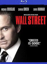 Wall Street [Blu-ray]  New  Michael Douglas, Charlie Sheen, Daryl Hannah