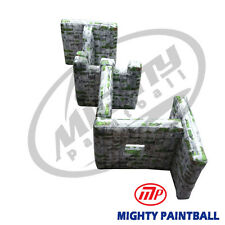Mighty Paintball Air Bunker (Inflatable Bunker) - Zigzag Shape (Mp-Sb-Wp06)
