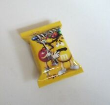 M&M Chocolate Yellow Peanut Pack FRIDGE MAGNET Novelty Indonesia 3D M&M's 1""